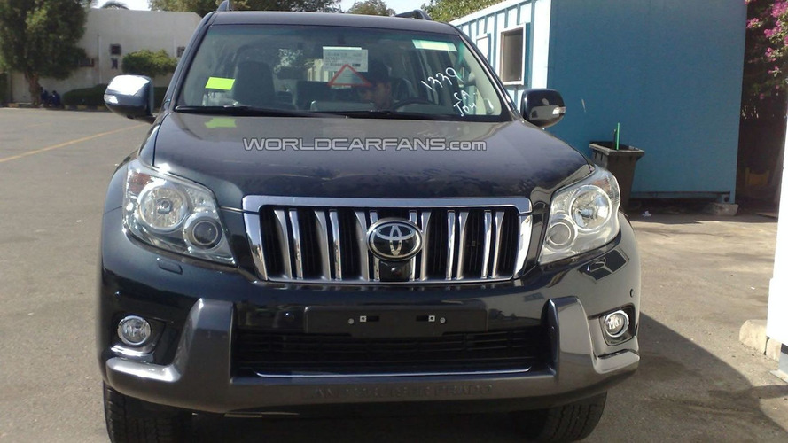 Toyota Land Cruiser Prado Caught in the Flesh at Dealership