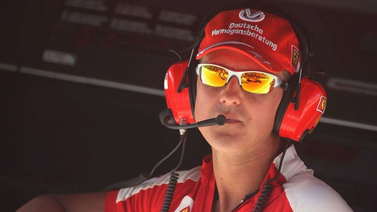 Michael Schumacher is due to have talks with Ferrari about a new contract in Monza