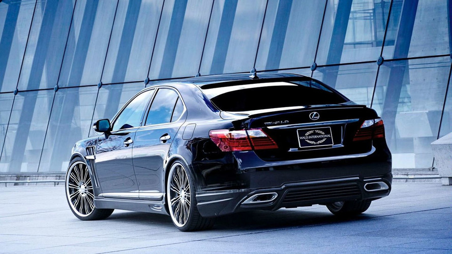 WALD Latest Styling Program for Lexus LS460 Facelift