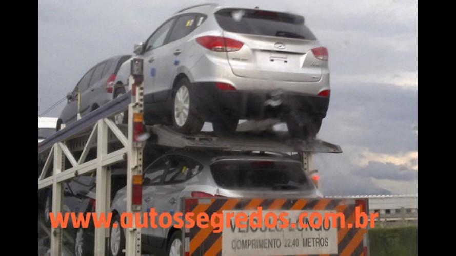 Hyundai ix35 (Novo Tucson) já chegou ao Brasil