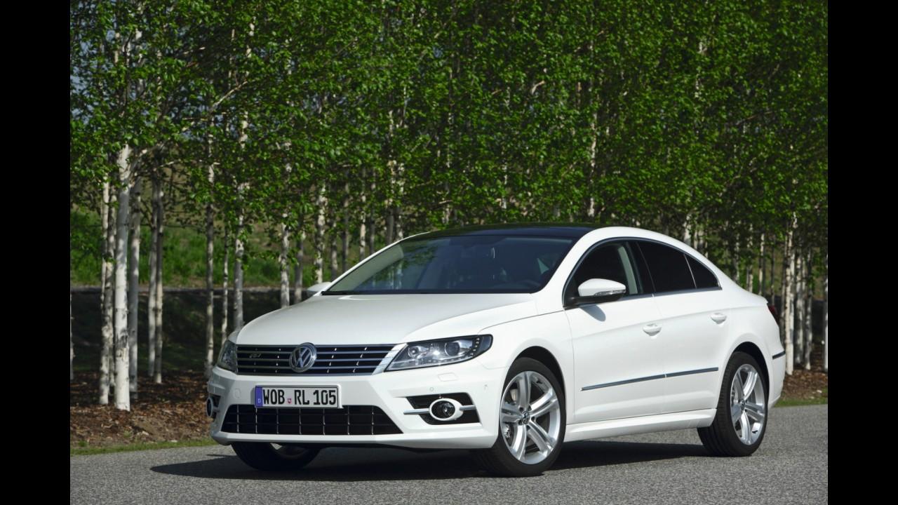 Salão de Leipzig: Volkswagen mostra cupê CC em versão esportiva R-Line