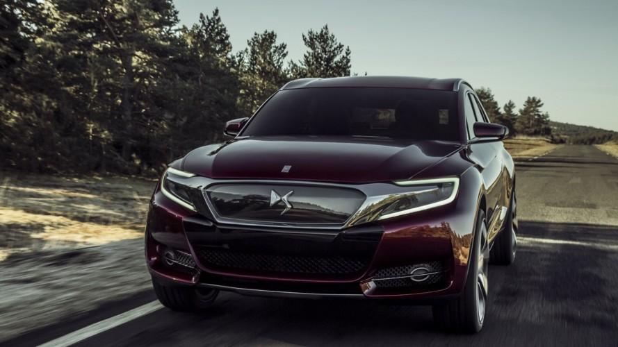 Citroën Wild Rubis Concept antecipa crossover da linha DS