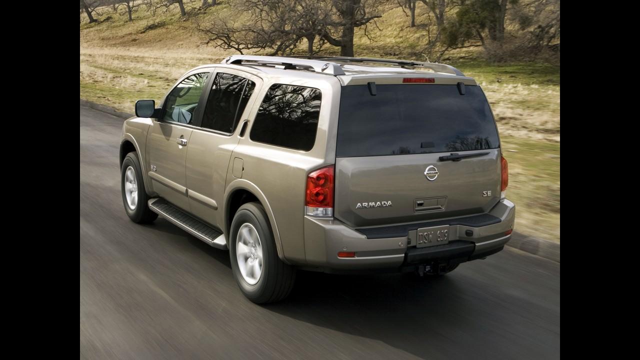 Nissan também confirma nova geração para o SUV Armada