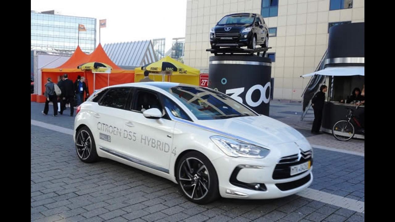 Tecnologia HYbrid4 da PSA Peugeot Citroën fatura prêmio Volante de Ouro na Alemanha