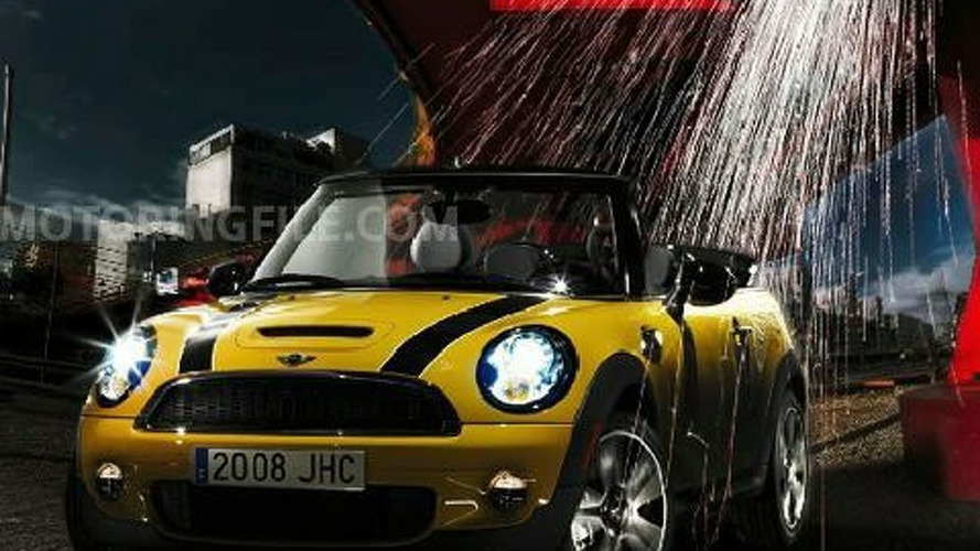 Next Generation Mini Cooper Cabrio Leaked