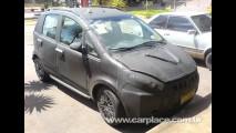 Leitor flagra Novo Fiat Idea 2011 camuflado - Modelo terá nova dianteira