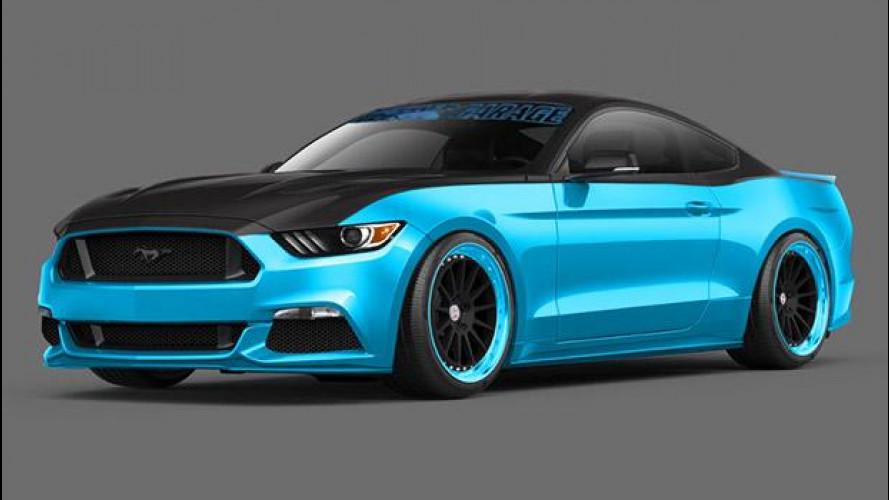 Ford Mustang protagonista al SEMA di Las Vegas