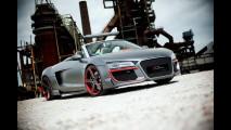 Audi R8 Spyder, il canto del cigno
