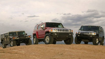 Hummer H1, H2 and H3