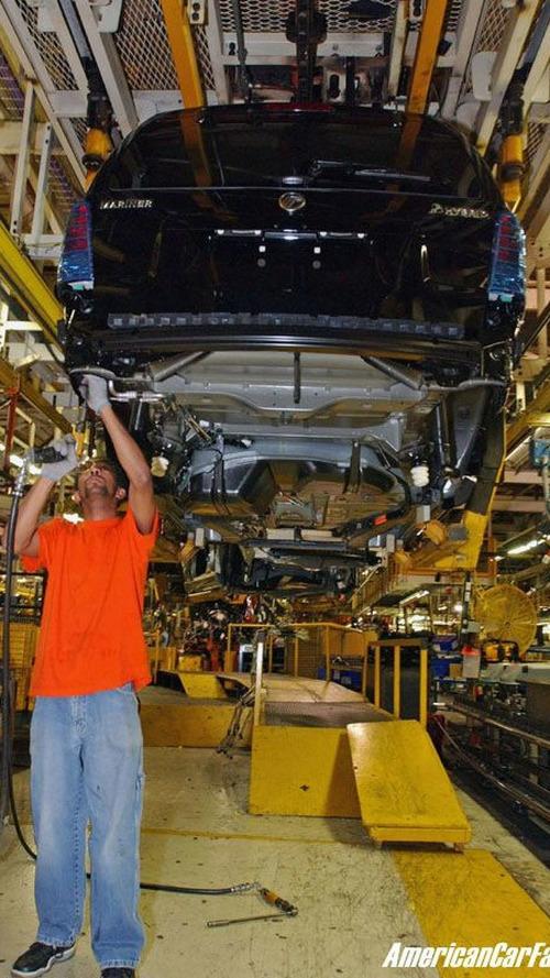 Mercury Mariner Hybrid Production Starts