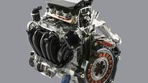 New Honda 3-stage i-VTEC + IMA cut-away