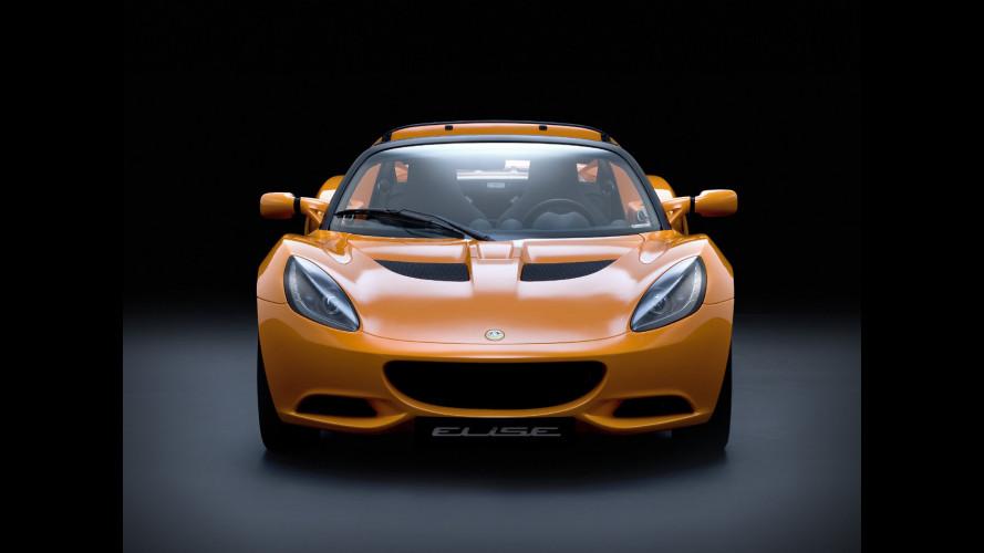 Lotus Elise 2011: 5 l/100 km per 149 g/km di CO2