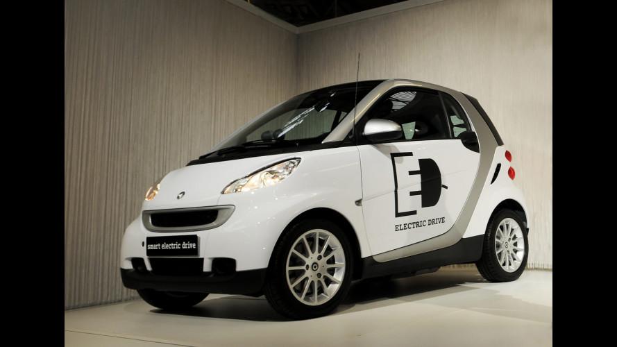 Nel 2012 tre smart su quattro saranno elettriche