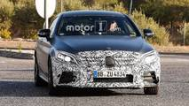 Refreshed Mercedes-AMG C43 C63 Spy Photos