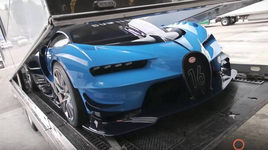 Set Of Spare Tires For The Bugatti Vision GT Cost $93,000