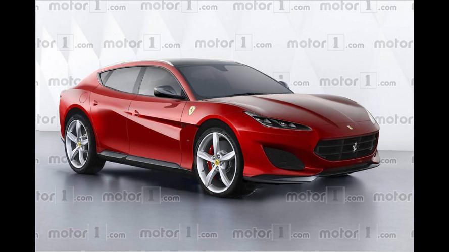 So könnte das Ferrari-SUV aussehen