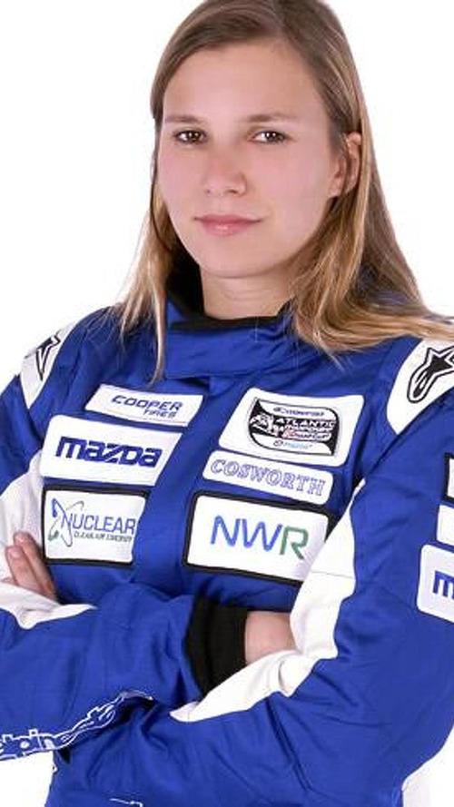 Sauber's female driver to make F1 test debut