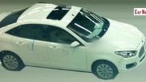 Ford Escort spy photo