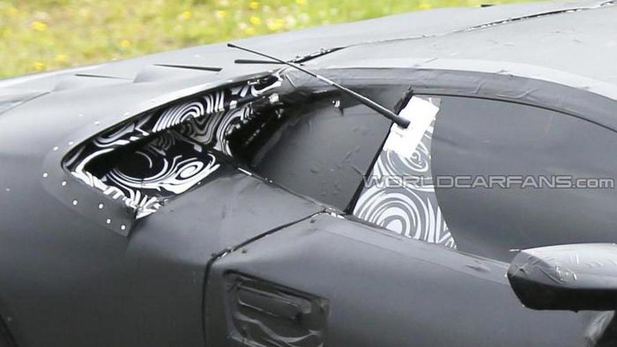 Lamborghini Cabrera spied on video once again