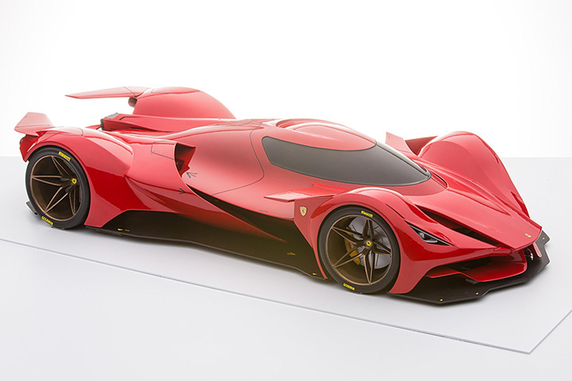This Ferrari Le Mans Prototype Doesn\'t Exist, But it Should
