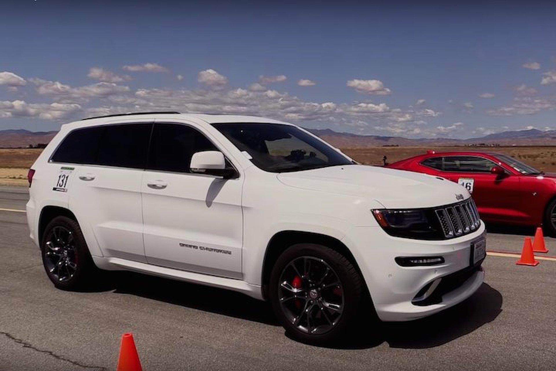 2016 Camaro SS vs Grand Cherokee SRT: Can Jeep Hang Tough?