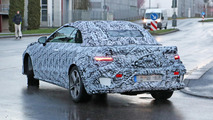 Mercedes E Class Convertible spy photo