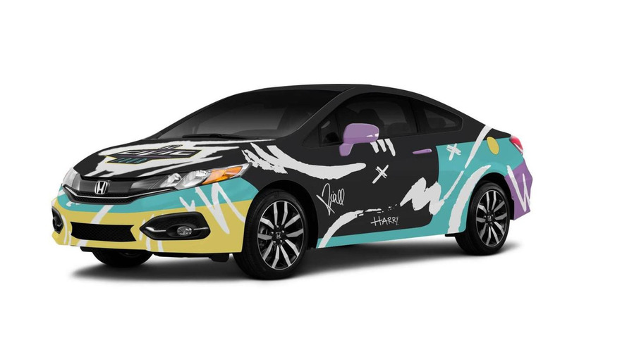 Honda Civic Coupe gets customized by One Direction