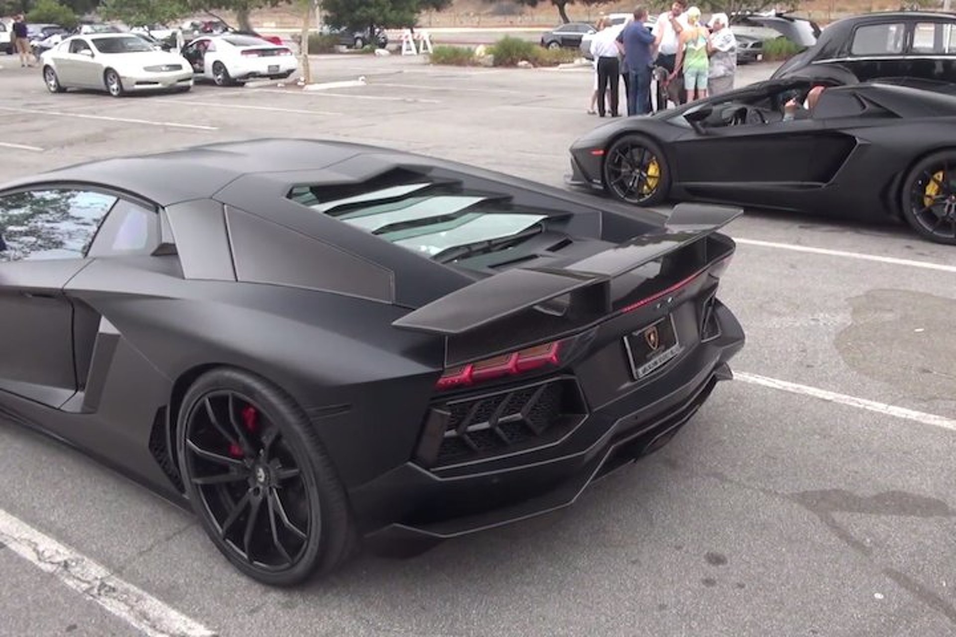 The Sights and Sounds of an Epic LA Supercar Meet