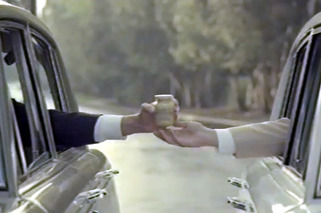 New Grey Poupon Ad Features Car Chase, Champagne Cannon