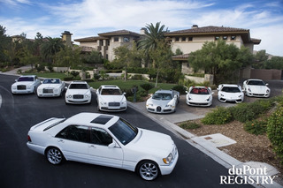 Floyd Mayweather's All White Everything Vegas Car Collection
