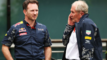 Christian Horner, Red Bull Racing Team Principal and Dr Helmut Marko, Red Bull Racing Team Consultant