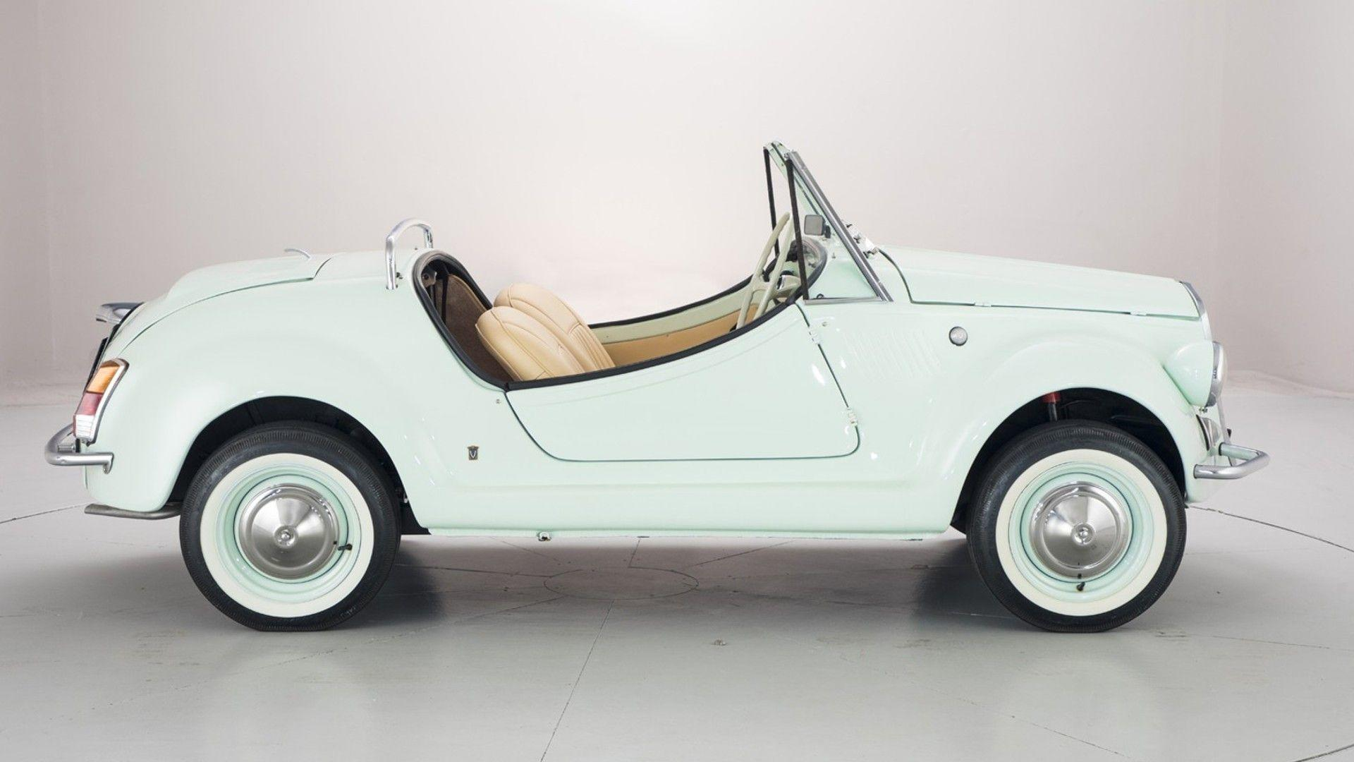 Souvent Fiat 500 Gamine By Vignale Is An Adorable Two-Cylinder Cabrio NZ98