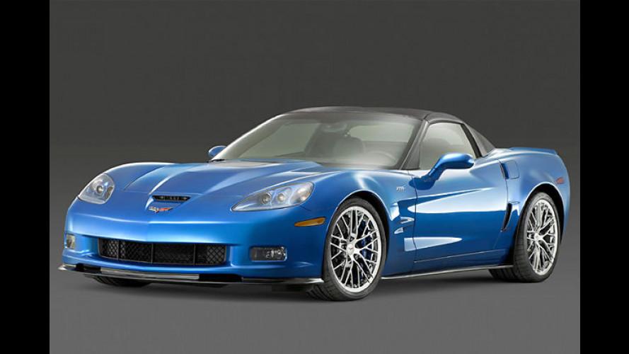 Corvette ZR1: Das blaue Muscle-Monster aus Kentucky