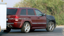 Jeep Grand Cherokee SRT8 Facelift Spy Photo