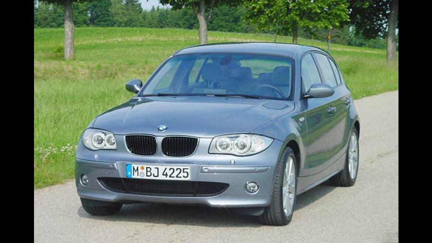 1er als Tabubrecher: Kleinster BMW macht manches anders