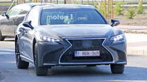 High-Performance Lexus LS Spy Photos