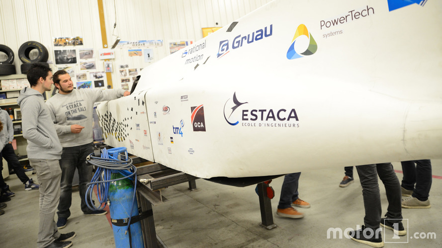 Estaca on the salt - Objectif Bonneville