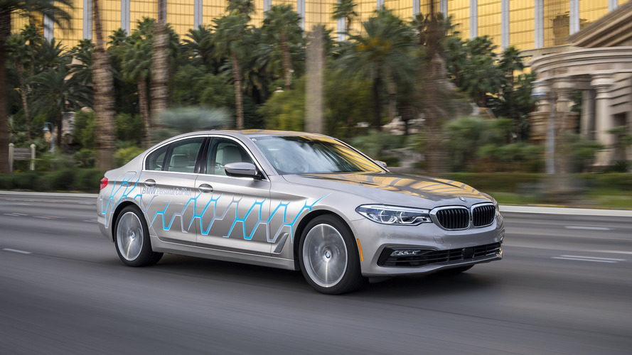 BMW built a 5 Series that can drive itself