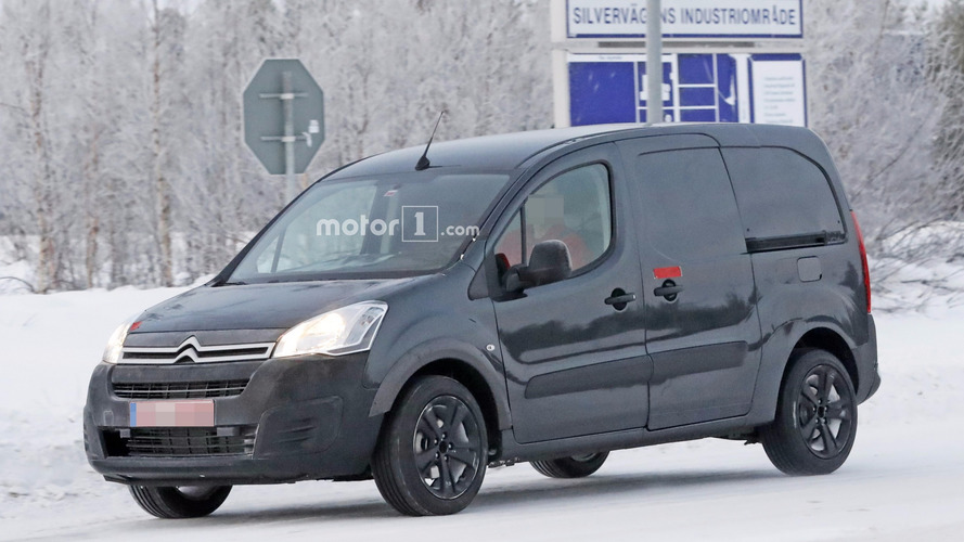 2018 Citroen Berlingo spied for the first time