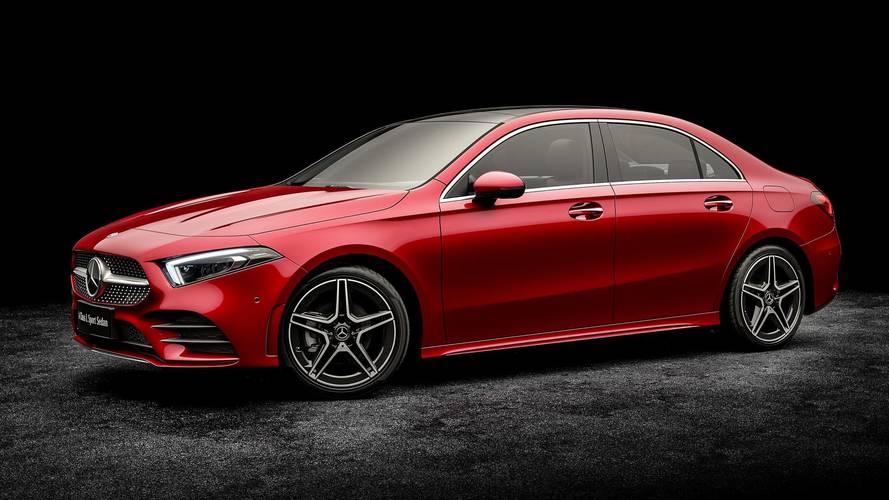 Mercedes Classe A L Sedan, con la coda ha tanto spazio in più
