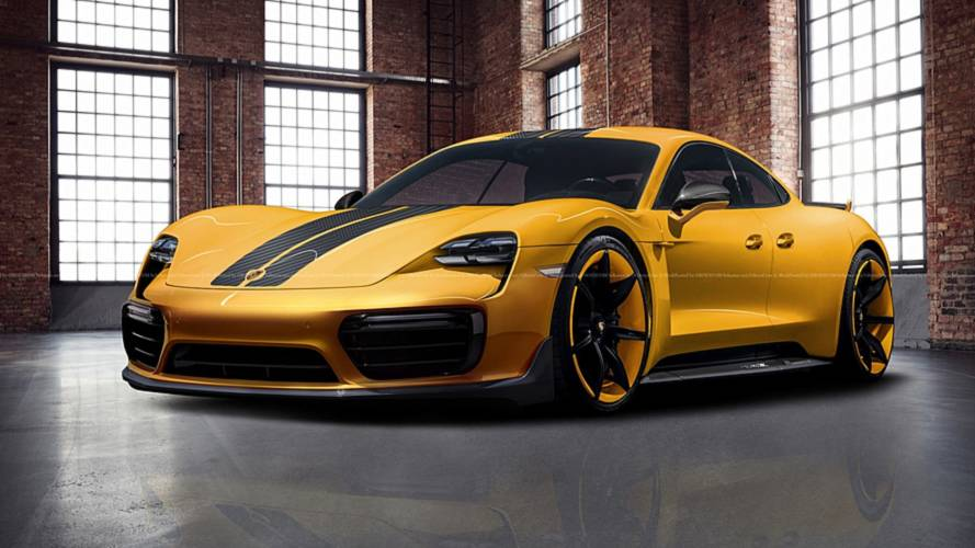 Porsche Taycan exclusive rendering dreams up a more luxurious EV