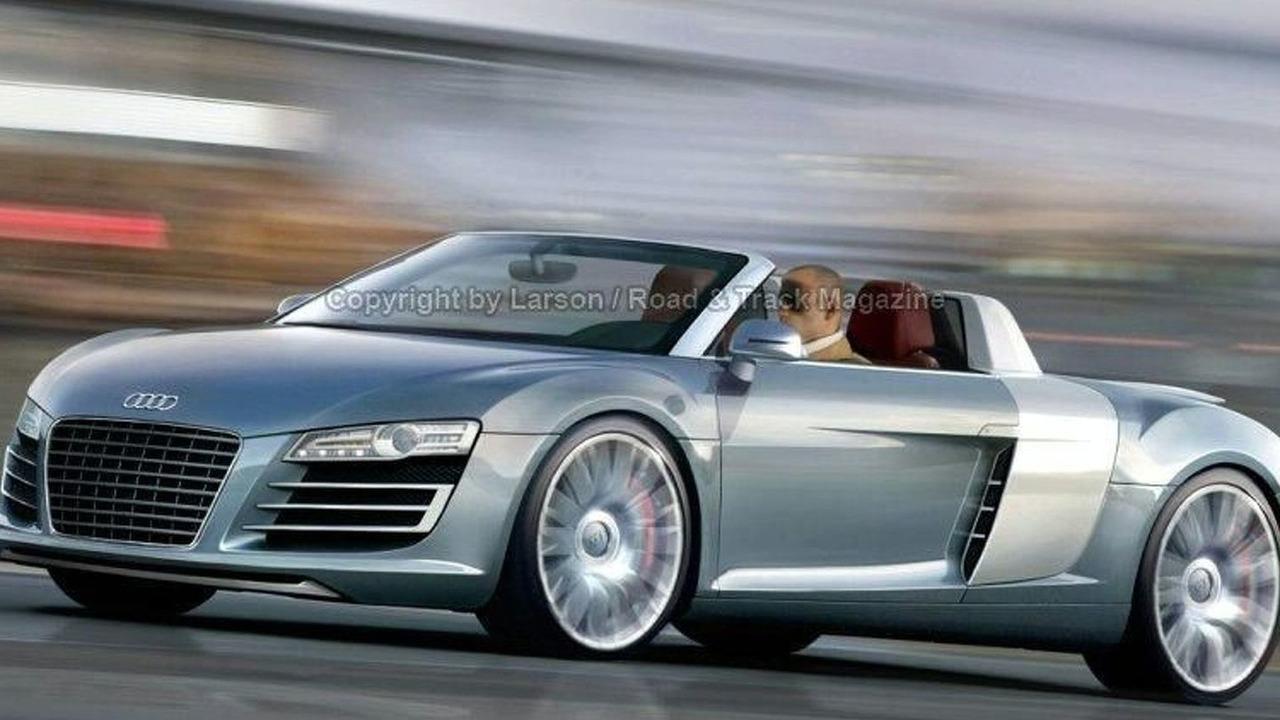 Audi R8 Targa illustration