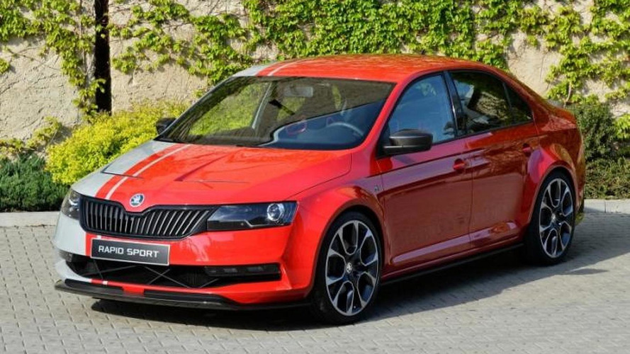 Skoda Rapid Sport breaks cover