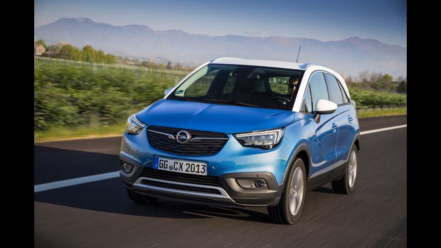 Opel Crossland X: origine francese, identità teutonica