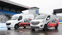 Vauxhall Movano Race Van Concept and Vivaro Race