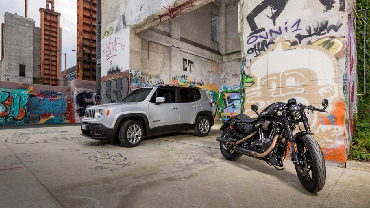 Jeep and Harley Davidson partners