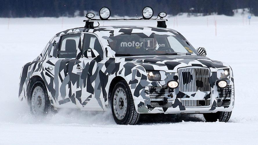 Gizemli prototip, Putin'in yeni limuzini mi?