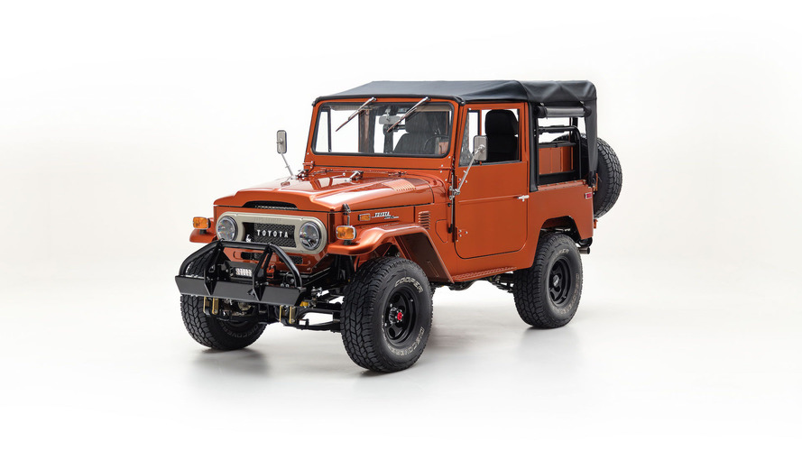 Restored 1972 Toyota FJ40 Looks As Pretty As A Penny