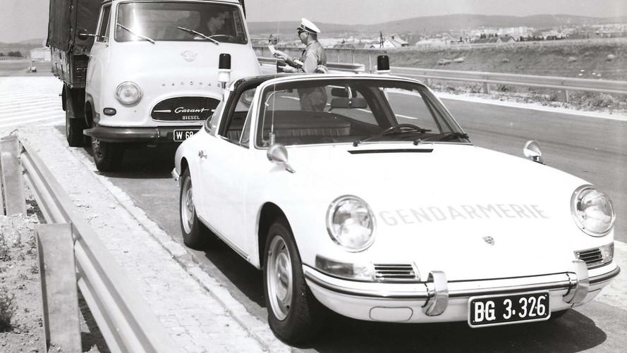 Porsche polis araçları