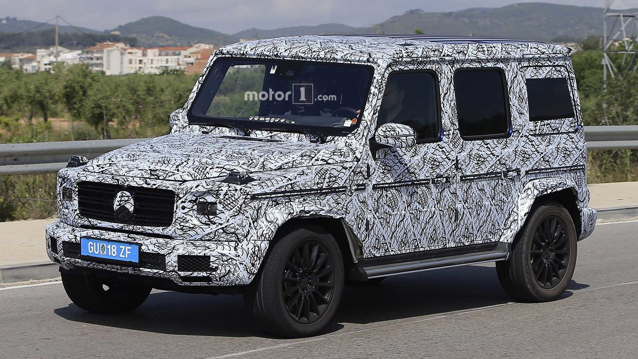 New Mercedes G Class Confirmed With Independent Front